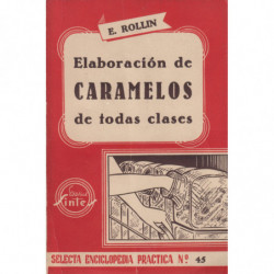 ELABORACIÓN DE CARAMELOS DE TODAS CLASES