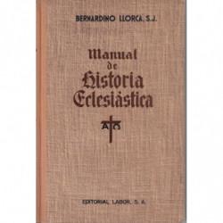 MANUAL DE HISTORIA ECLESIÁSTICA