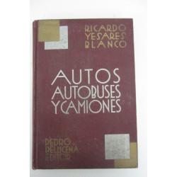 AUTOS AUTOBUSES Y CAMIONES