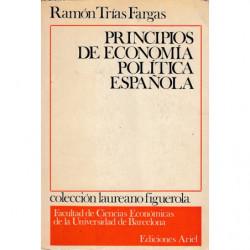 PRINCIPIOS DE ECONOMIA POLÍTCA ESPAÑOLA