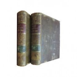 HISTORIA DE CIEN AÑOS 1750-1850. Traducida Por Don Salvador Costanzo (4 Volúmenes en 2 Tomos : OBRA COMPLETA)
