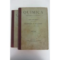 QUÍMICA INDUSTRIAL Y AGRÍCOLA. Tratado Teórico- Práctico. Tomos Primero y Segundo. Texto Completo.