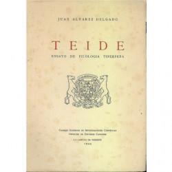 TEIDE ensayo de filologia tinerfeña