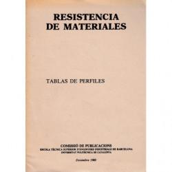 RESISTENCIA DE MATERIALES, Tablas De Perfiles , I. Valores Estaticos, Laminados ...