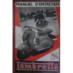 SCOOTER LAMBRETTA 125 CMC Manuel D'entretien, Demontage - Entretien - Description - Reglage - Depannage