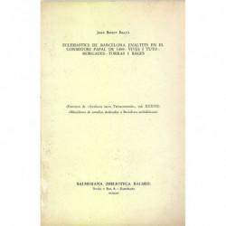 ECLESIÁSTICS DE BARCELONA ENALTITS EN EL CONSISTORI PAPAL DE 1899: VIVES I TUTÓ-MORGADES-TORRAS I BAGES