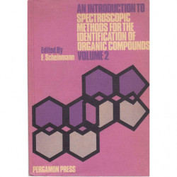 AN INTRODUCTION TO SPECTROSCOPIC METHODS FOR THE IDENTIFICATION OF ORGANIC COMPOUNDS Volume 2
