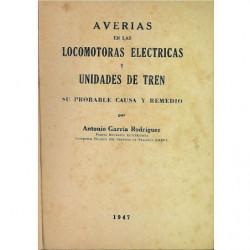 AVERIAS EN LOCOMOTORAS ELECTRICAS Y UNIDADES DE TREN