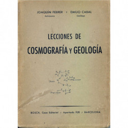 LECCIONES DE COSMOGRAFIA Y GEOLOGIA