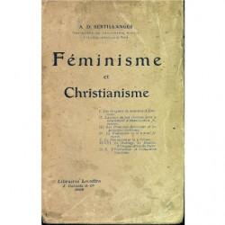 FÉMINISME ET CHRISTIATIANISME