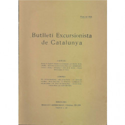BUTLLETI ESCURSIONISTA DE CATALUNYA Març De 1925 Nu. 358