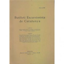 BUTLLETI EXCURSIONISTA DE CATALUNYA Abril De 1925 Num. 359