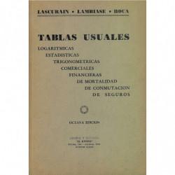 TABLAS USUALES