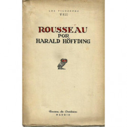 ROUSSEAU Colección LOS FILOSOFOS Vol. VIII