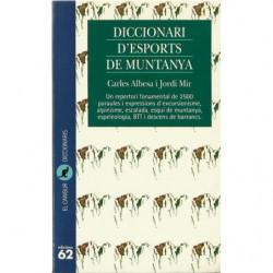 DICCIONARI D'ESPORTS DE MUNTANYA