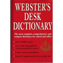 WEBSTER'S DESK DICTIONARY