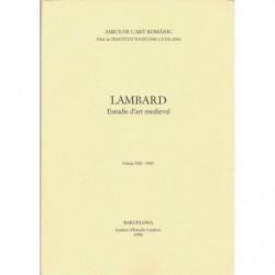 LAMBARD. Estudis d'art medieval. Volum VIII - 1995