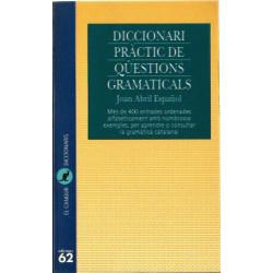 DICCIONARI PRÀCTIC DE QÜESTIONS GRAMATICALS