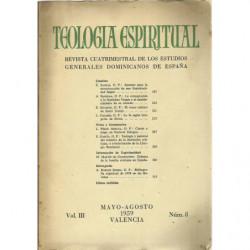 TEOLOGÍA ESPIRITUAL Vol. IIII, Nº 8