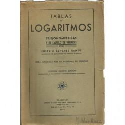 TABLAS DE LOGARITMOS TRIGONOMETRICAS Y DE CALCULO DE INTERESES