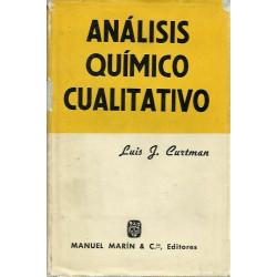 ANÁLISIS QUÍMICO CUALITATIVO