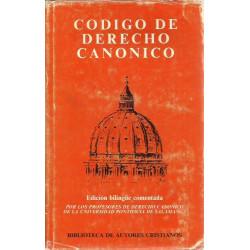 CÓDIGO DE DERECHO CANÓNICO Edición Bilingüe Comentada