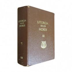 LITÚRGIA DE LES HORES Segons el Ritu Romà III TEMPS DE DURANT L'ANY: SETMANES VI - XVIII