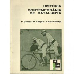 HISTÒRIA CONTEMPORÀNIA DE CATAUNYA