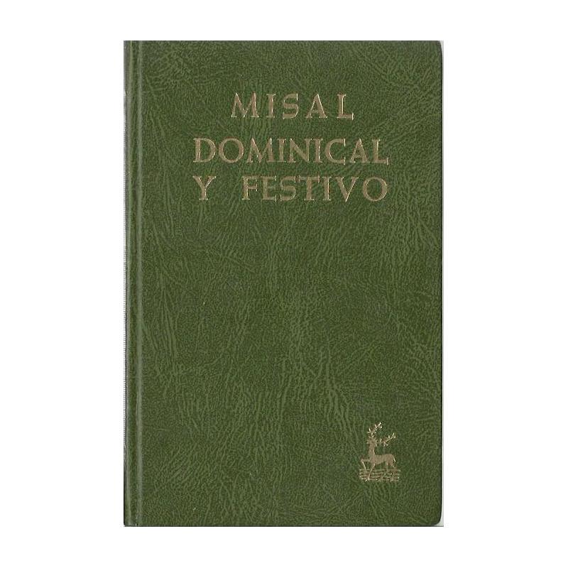 MISAL DOMINICAL Y FESTIVO Texto Litúrgico Oficial