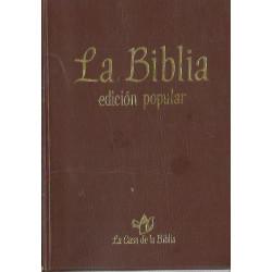 LA BIBLIA Edición Popular