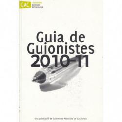 GUIA DE GUIONISTES 2010-11