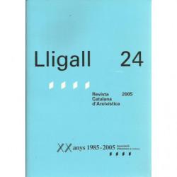 LLIGALL 24 Revista Catalana d'Arxivística