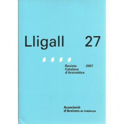 LLIGAL 27 Revista Catalana d'Arxivística