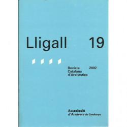 LLIGALL 19 Revista Catalana d'Arxivística