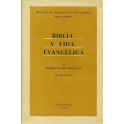 BIBLIA Y VIDA EVANGÉLICA
