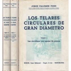 LOS TELARES CIRCULARES DE GRAN DIAMETRO 3 Tomos OBRA COMPLETA