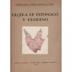 ULCERA DE ESTOMAGO Y DUODENO Estudio Anatomoclinico y Terapeutico
