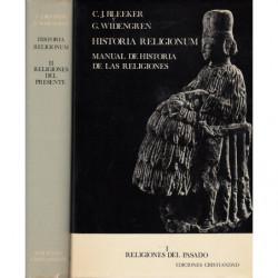 HISTORIA RELIGIONUM. MANUAL DE HISTORIA DE LAS RELIGIONES 2 Tomos OBRA COMPLETA