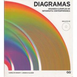 DIAGRAMAS Grandes Ejemplos de Infografía Contemporánea (INCLUYE CD)