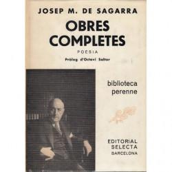 OBRES COMPLETES de JOSE M.ª DE SAGARRA, POESIA