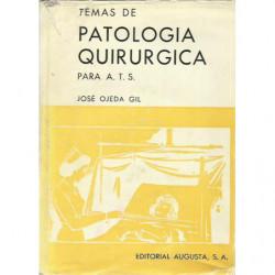 TEMAS DE PATOLOGÍA QUIRURGICA PARA A.T.S.