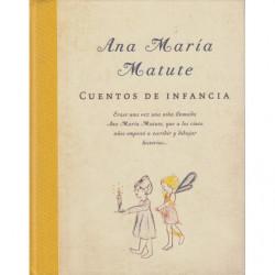 CUENTOS DE INFANCIA Erase una vez una niña llamada Ana María Matute, que a los cinco años empezo a escribir y dibujar historias