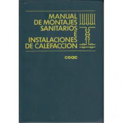 MANUAL DE MONTAJES SANITARIOS E INSTALACIONES DE CALEFACCIÓN
