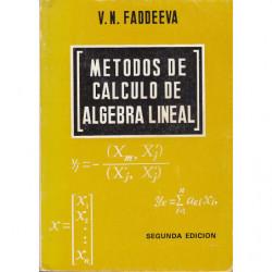 MÉTODOS DE CALCULO DE ÁLGEBRA LINEAL