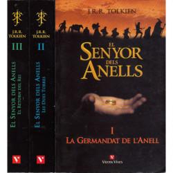 EL SENYOR DELS ANELLS 3 Vols OBRA COMPLERTA